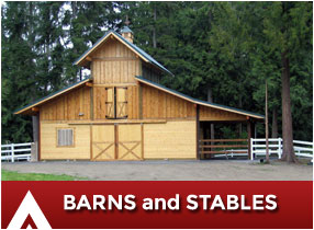Equestrian Barns and Stables
